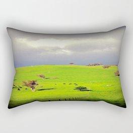 Green Pastures Rectangular Pillow