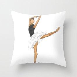 Prima Ballerina Throw Pillow