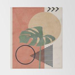 Nature Geometry I Throw Blanket