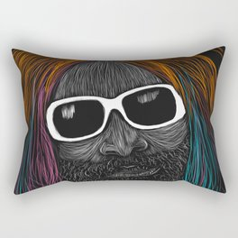 George Clinton Rectangular Pillow
