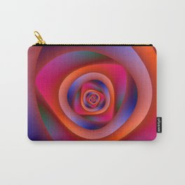 Pschedelic Spiral Carry-All Pouch