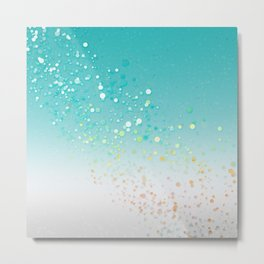 Dotty Vibe Metal Print