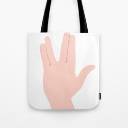 Live Long & Prosper Tote Bag