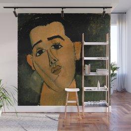 "Amedeo Modigliani ""Portrait of Juan Gris"" Wall Mural"