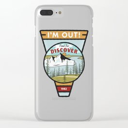 I'm out Clear iPhone Case