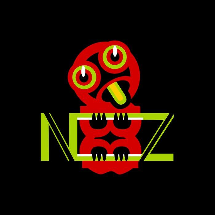 Hei Tiki New Zealand Duvet Cover