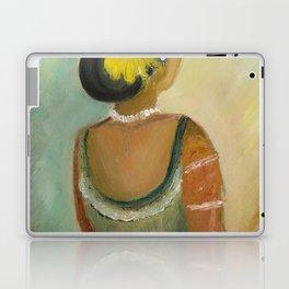 After the dance - Sri Lankan dancing girl Laptop & iPad Skin