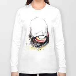 Coffee Face 04 Long Sleeve T-shirt