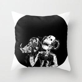 Faux King Throw Pillow