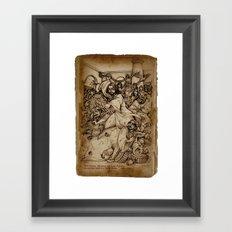 JC: Cleanses the Temple Framed Art Print