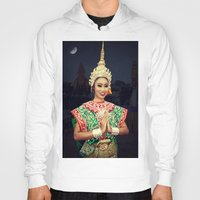 thailand Hoodies featuring Welcome Thailand by Ian Gledhill