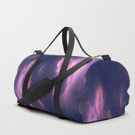 Starry nebula clouds Duffle Bag