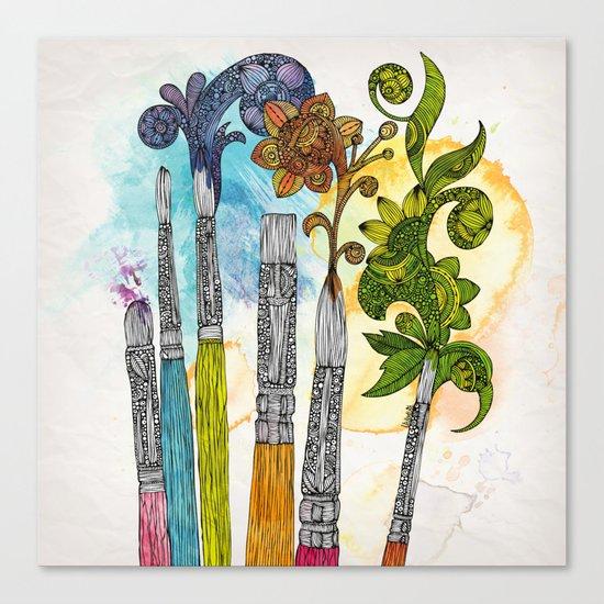 Brushtopia Canvas Print