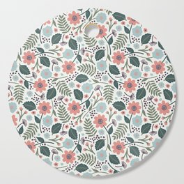 Blush Blooms Cutting Board