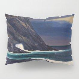 Classical Masterpiece Brewing Storm, Monhegan Island, Maine by Rockwell Kent Pillow Sham