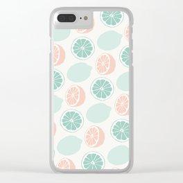 Cute Lemonade Clear iPhone Case