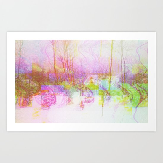 Have A Nice Day (collaboration w/ Matt Gilles) Art Print