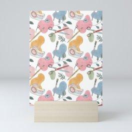 Craft Kit Pattern Mini Art Print