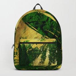 The golden greens 1 Backpack