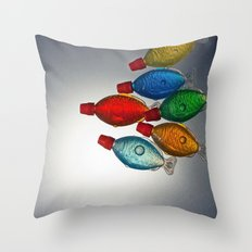 School of Soy Throw Pillow