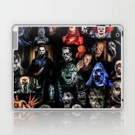 Legends of Horror print Laptop & iPad Skin