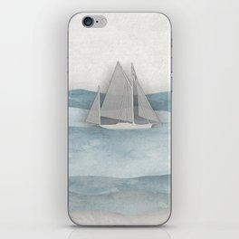 Floating Ship iPhone Skin