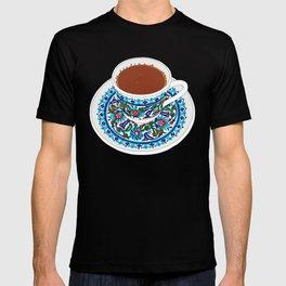 By La Maison Du Lapino  Turkish Coffee T Shirt