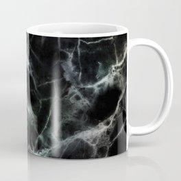 Luxurious Black Marble With Smoky Veins Coffee Mug