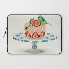 life is short, take a dessert  Laptop Sleeve