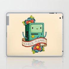 BMO   CHECK PLEASE Laptop & iPad Skin
