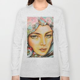 Pivoine- Peony by Sonia Laurin Long Sleeve T-shirt