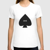 ace T-shirts featuring ACE by An Artsy Corner