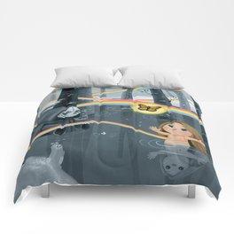 I Follow Rainbows Comforters