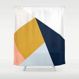 Mid Century Modern Vintage Shower Curtain