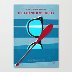 No694 My The Talented Mr Ripley minimal movie poster Canvas Print