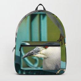 Fantastic Pretty Bird Chilling Victorain Gate UHD Backpack