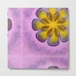 Koans Style Flowers  ID:16165-094811-95720 Metal Print
