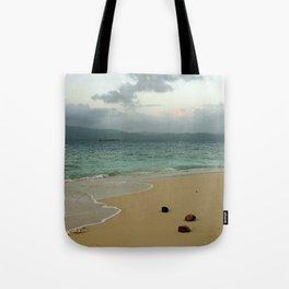 Secluded Beach in San Blas Tote Bag