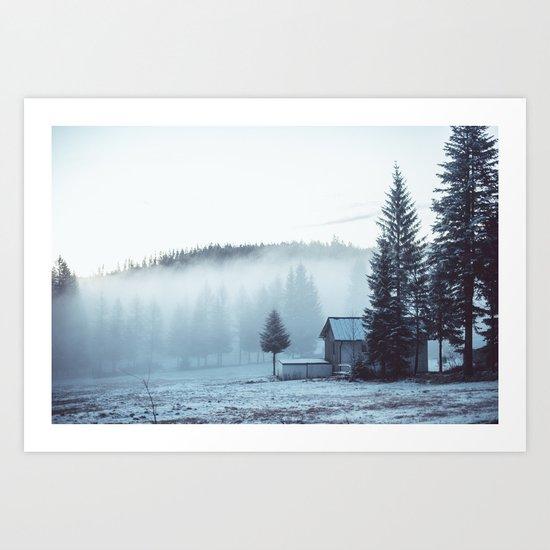 Foggy Memories Art Print