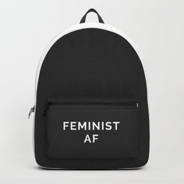 Feminist AF Quote Backpack