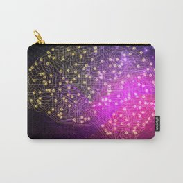 Your Brain on Bitcoins Carry-All Pouch