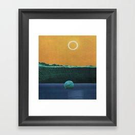 The Drowned World Framed Art Print