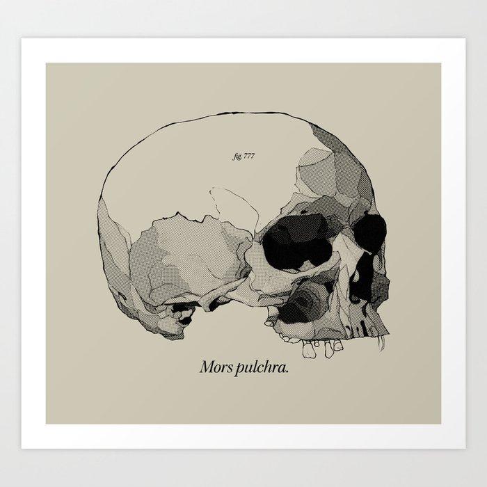 Mors Pulchra II Art Print