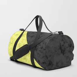Black , yellow , lemon Duffle Bag