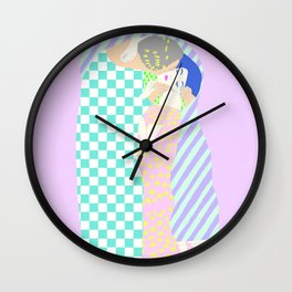 THE KISS REIMAGINED Wall Clock
