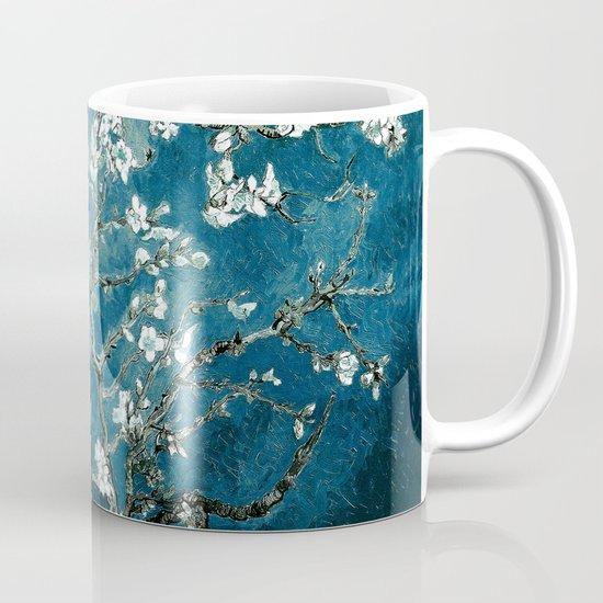 Van Gogh Almond Blossoms : Dark Teal by purelove