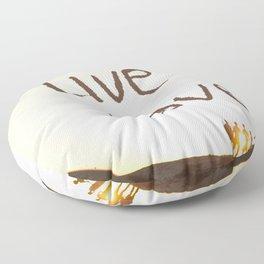 Live Love Floor Pillow