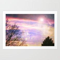 Cloud Study pt5 Art Print