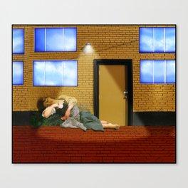 Bouguereau's Sleeping Beauty Canvas Print