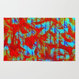 Design Delirium Red Rug